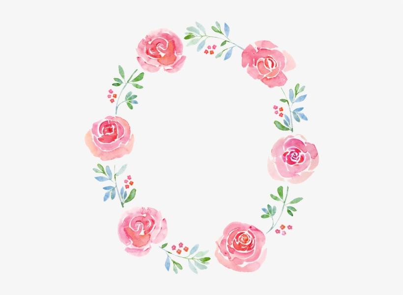 Graphic Freeuse Stock Free Premium Stock Photos Canva - Free Floral Wreath Watercolor, transparent png #29852