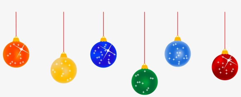 Svg Lights Picture - Christmas Balls Vector Png, transparent png #29873