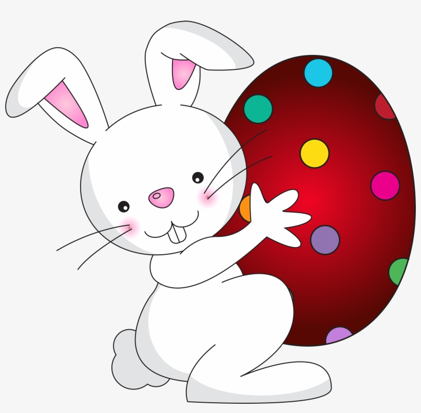 White Easter Bunny Transparent Png - Easter Bunny Clipart Png, transparent png #200354