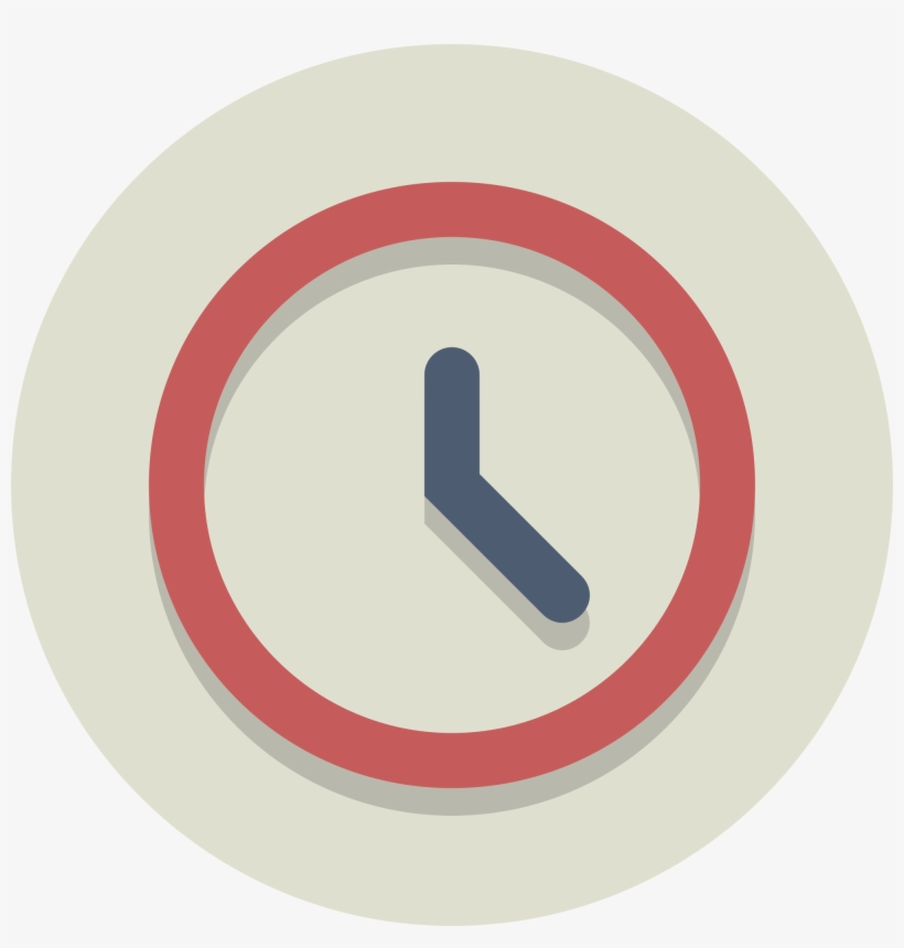 Open - Clock Circle Icon Png, transparent png #200801