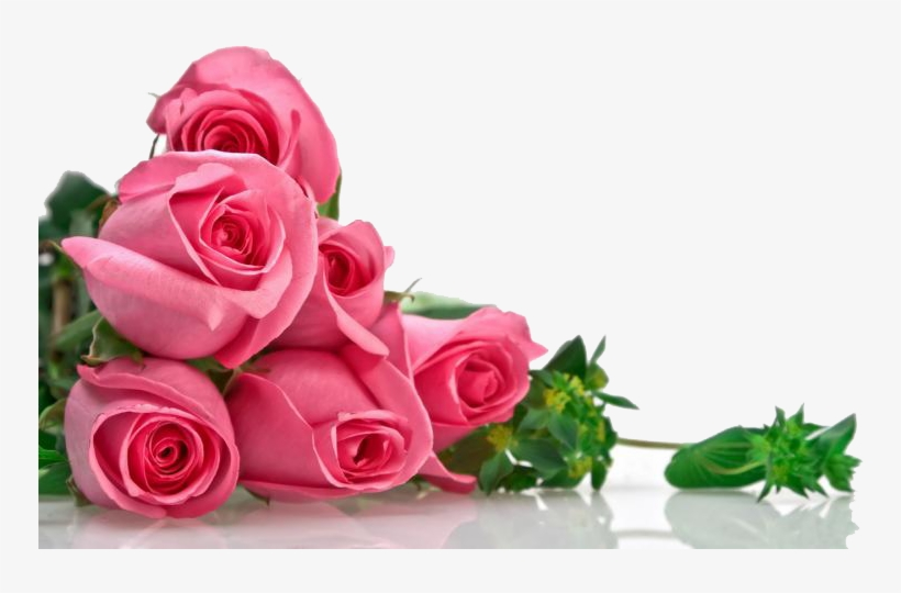 Bouquet Of Pink Flowers Png Miss You With Flowers Free