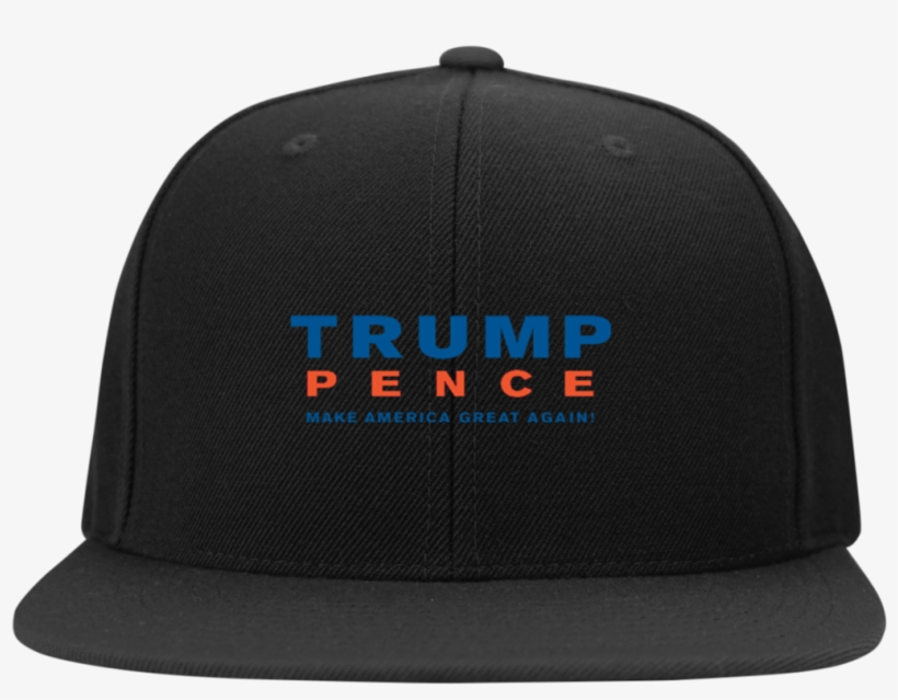 Trump Pence Make America Great Again Snapback Hat Hats - Just Badass Flat Bill Twill Flexfit Cap, transparent png #204261