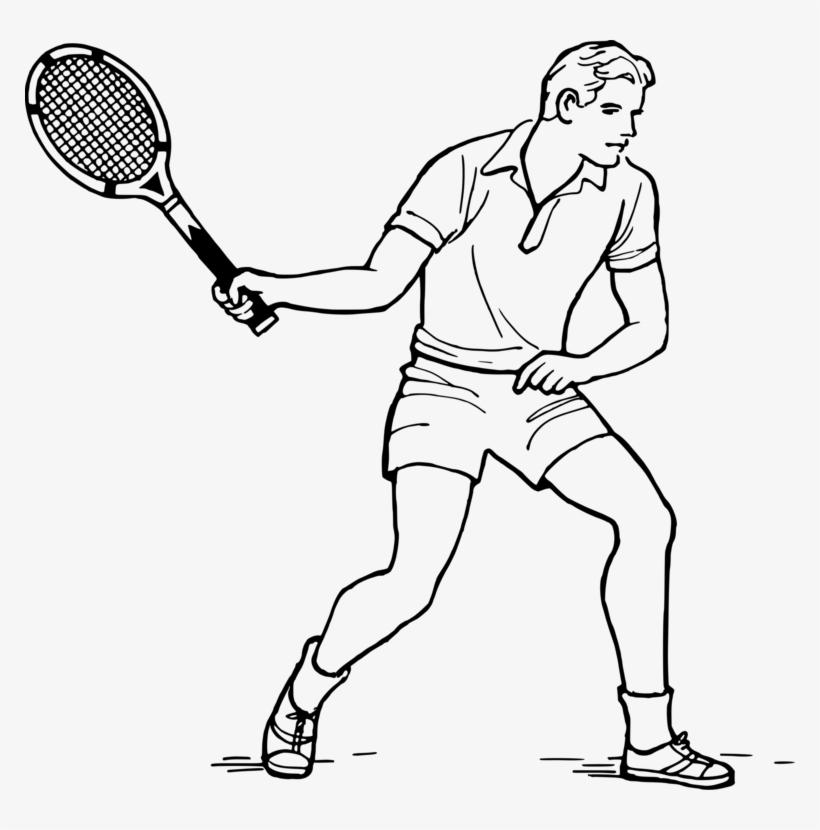Drawing Tennis Player Tennis Girl Womens Stuttgart