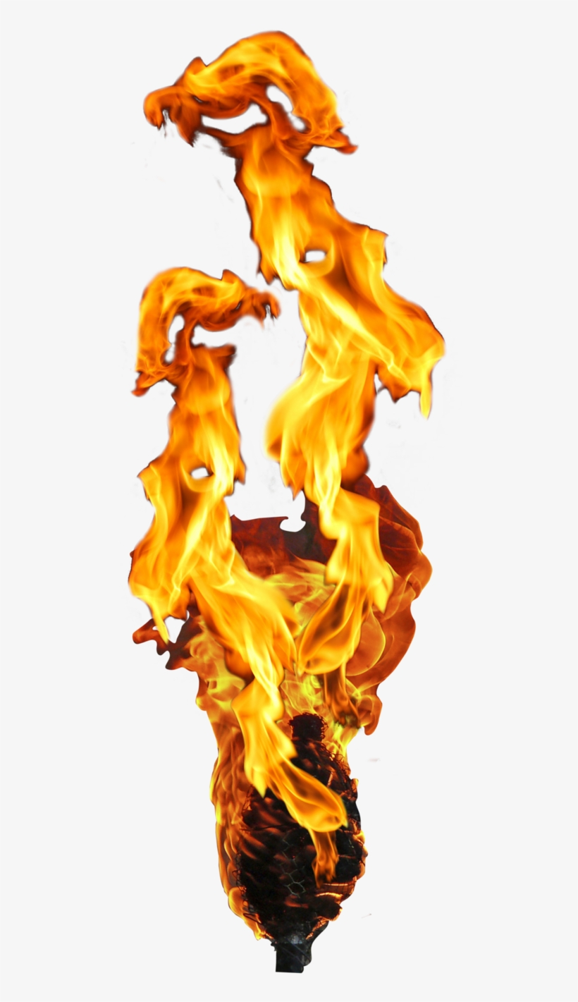 Fire Torch Antorcha By Digitalwideresource On Deviantart - Flame Fire On A Torch, transparent png #204927