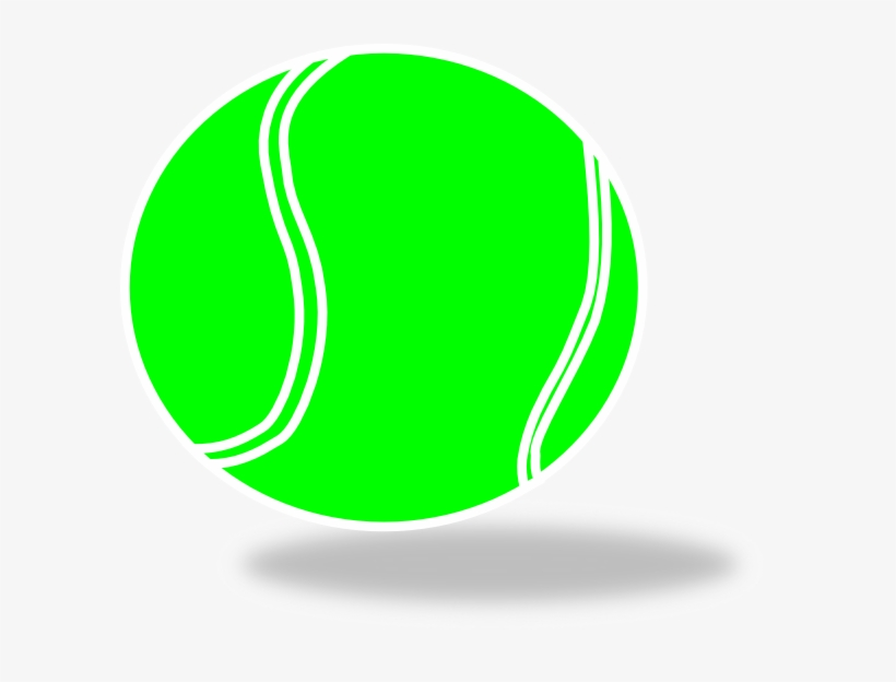 Graphic Royalty Free Stock Clip Art At Clker Com Vector - Green Tennis Ball Clipart, transparent png #204956