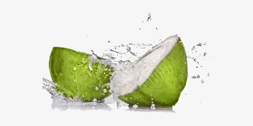 Fruit Water Splash Png - Waiola Coconut Water, Chocolate - 8.5 Fl Oz, transparent png #205132