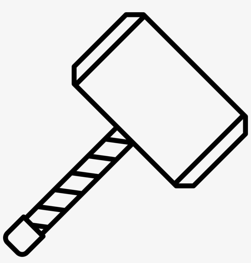 Png File Martelo Do Thor Desenho Free Transparent Png Download