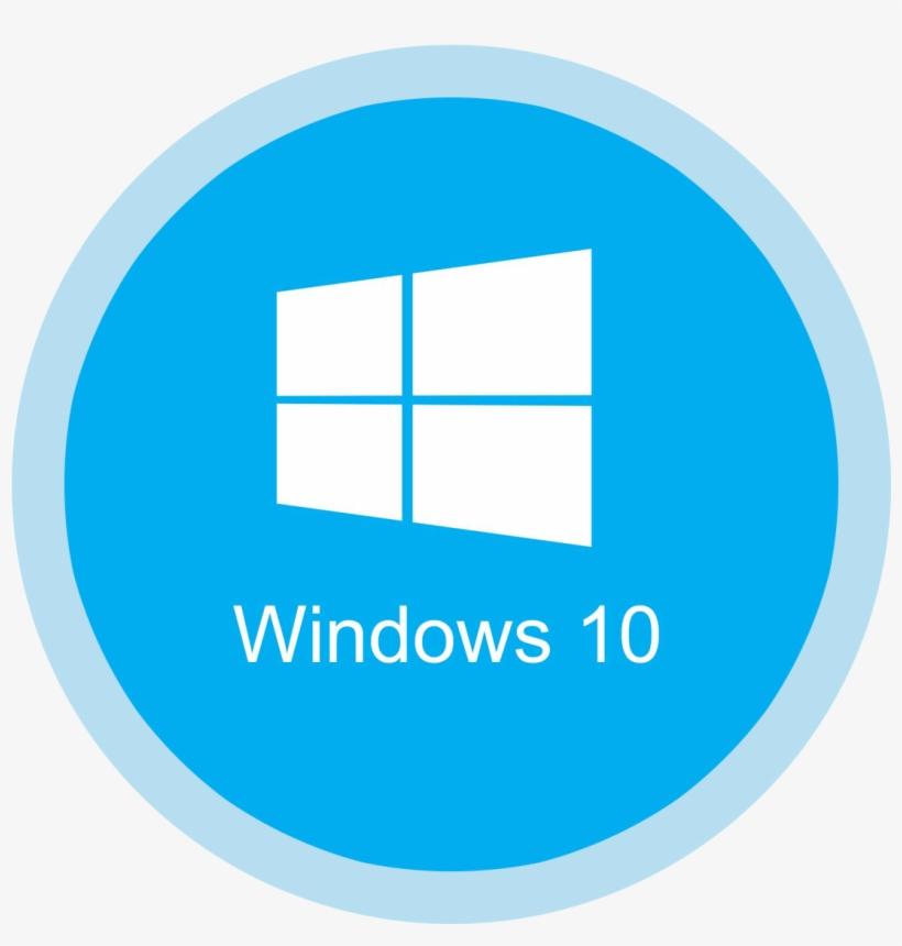 Windows 10 Png Icons - Windows 10 Logo Circle, transparent png #205929