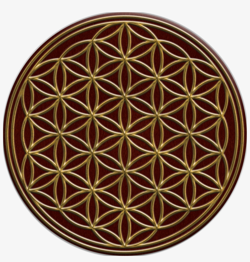 Flower Of Life 02 Copy - Overlapping Circles Grid, transparent png #206511