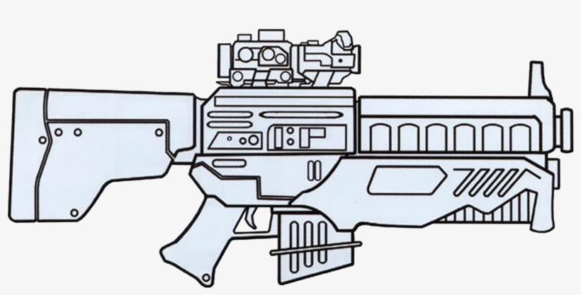 Dh-x Heavy Blaster Rifle - Blastech Dh X Heavy Blaster Rifle, transparent png #207028