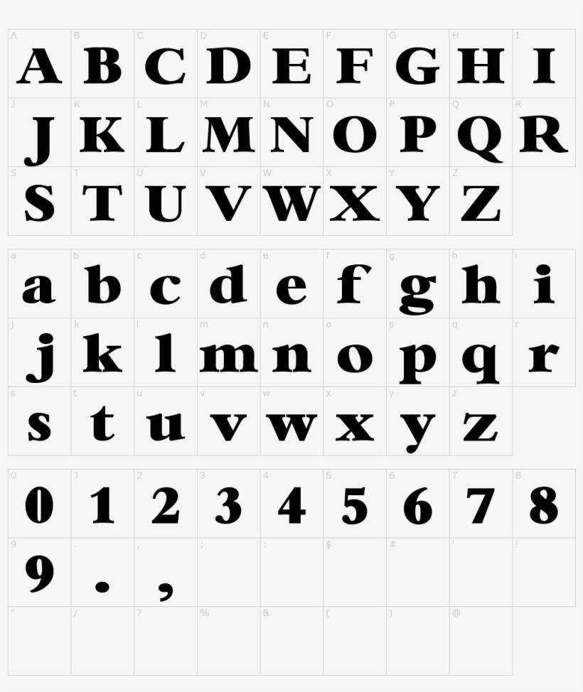 Bambi Font Character Map, Online Fonts - Nasa Logo Font - Free