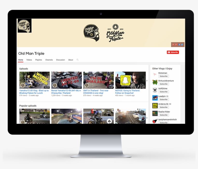 Creative Youtube Channel Design - 99designs Youtube Banner, transparent png #208283