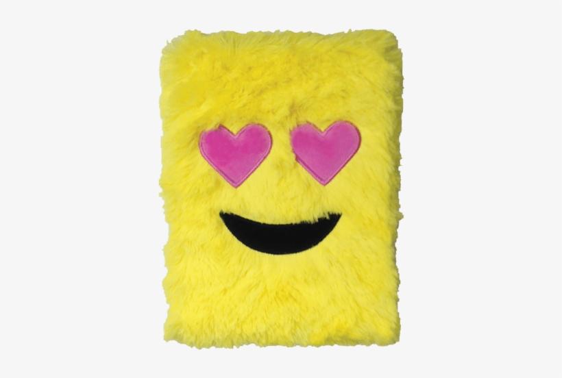 Heart Eyes Emoji Furry Journal - Emoji Journal, transparent png #208853