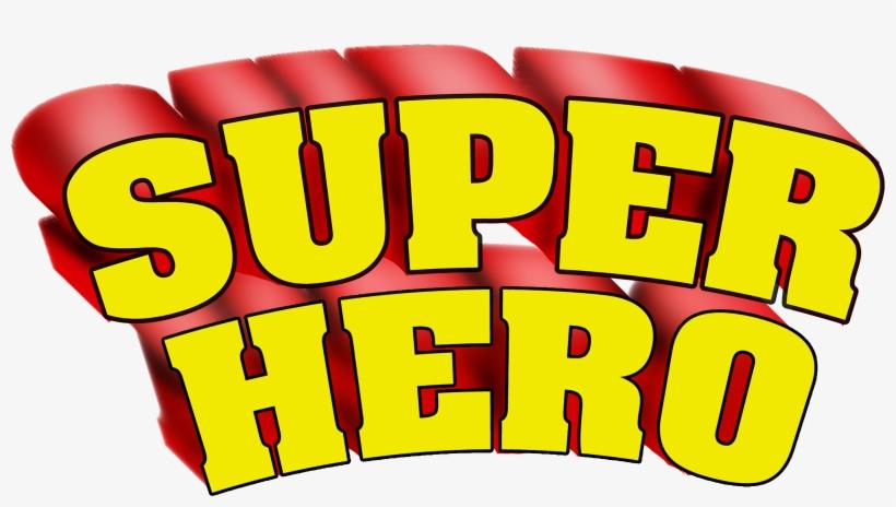 Superhero Words Super Hero Clip Art Hostted - Superhero In Words, transparent png #209747