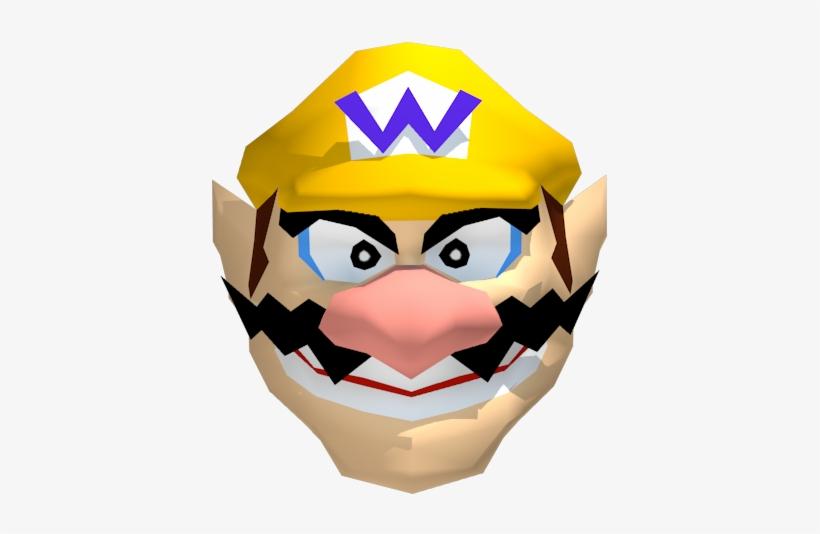 Nintendo Mario Party S - Wario Face Transparent, transparent png #2003535
