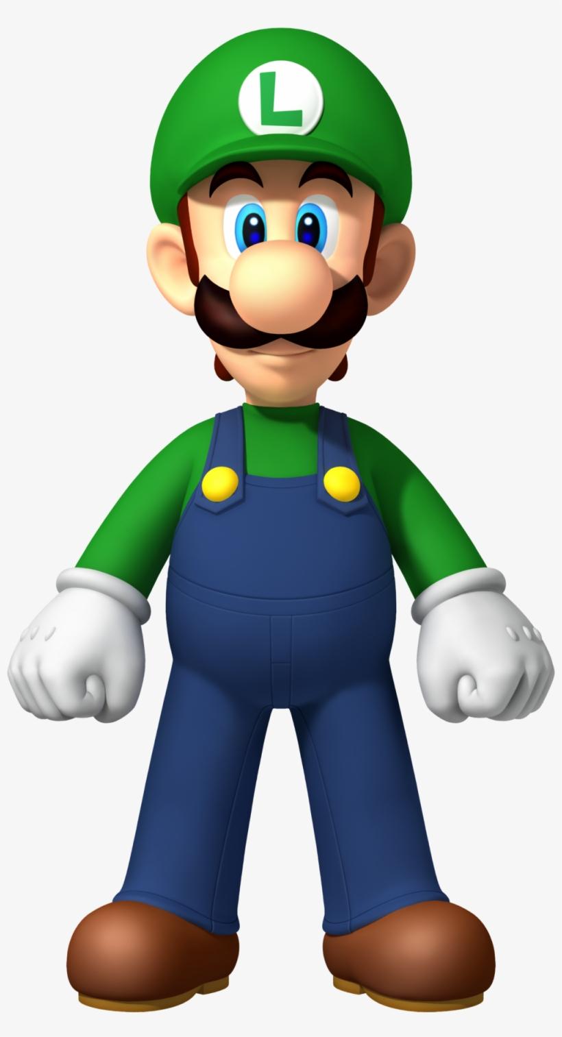 Png - New Super Mario Bros Wii Luigi, transparent png #2003569