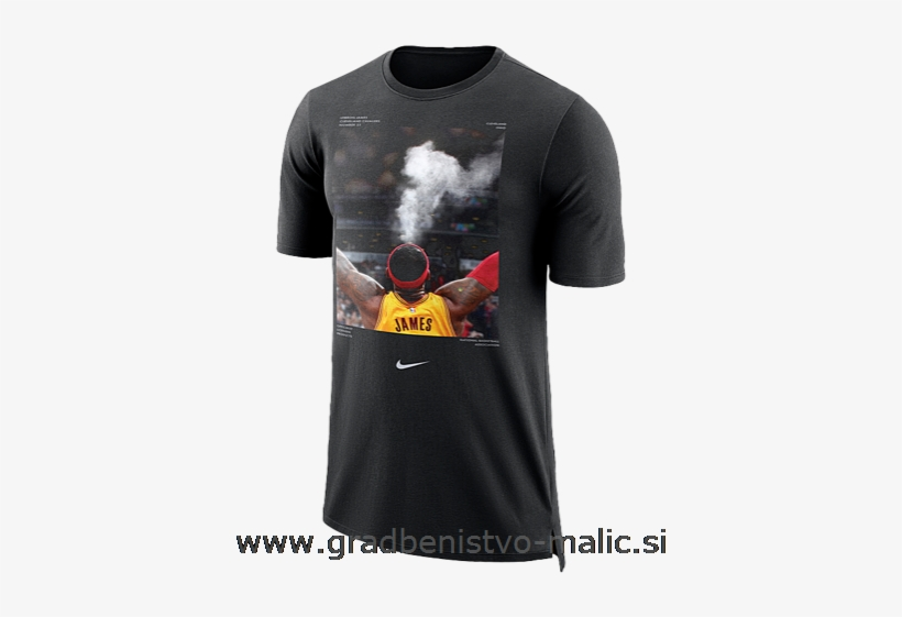 Men's Nike Nba Player T-shirt Top Selling 2019 Cleveland - Nike 924629 010, transparent png #2004936