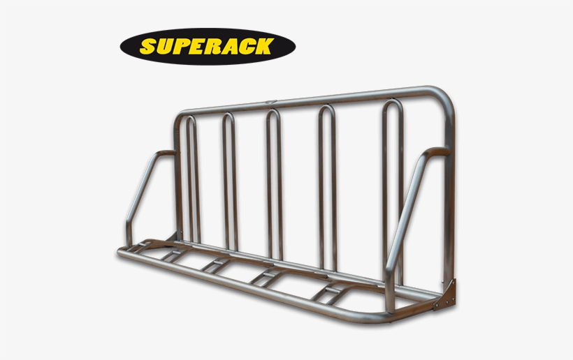 Outdoor Rack To Suit High Volume Bicycle Parking - Stainless Steel Bike Stand, transparent png #2005093