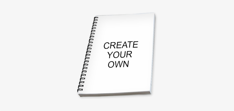 Create Your Own Notebook - Spiral Notebooks Online, transparent png #2005958