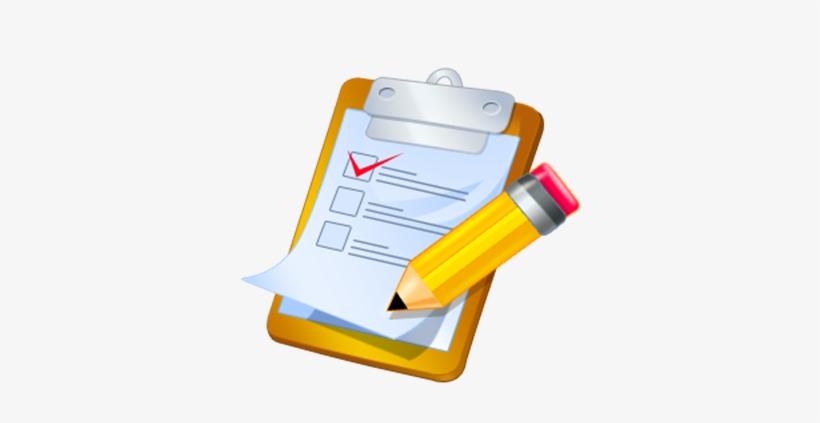 Gain Feedback On The New, Not Yet Published, Ccar High - Clipart Of Checklist, transparent png #2009418