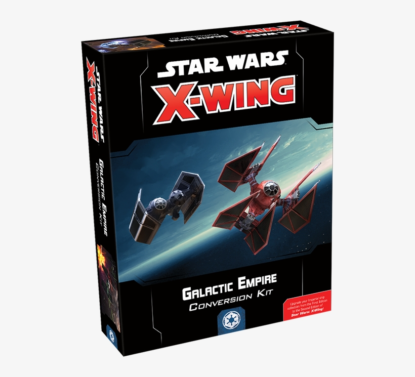 X-wing 2nd Edition Galactic Empire Conversion Kit - Star Wars X Wing Galactic Empire Conversion Kit, transparent png #2009625