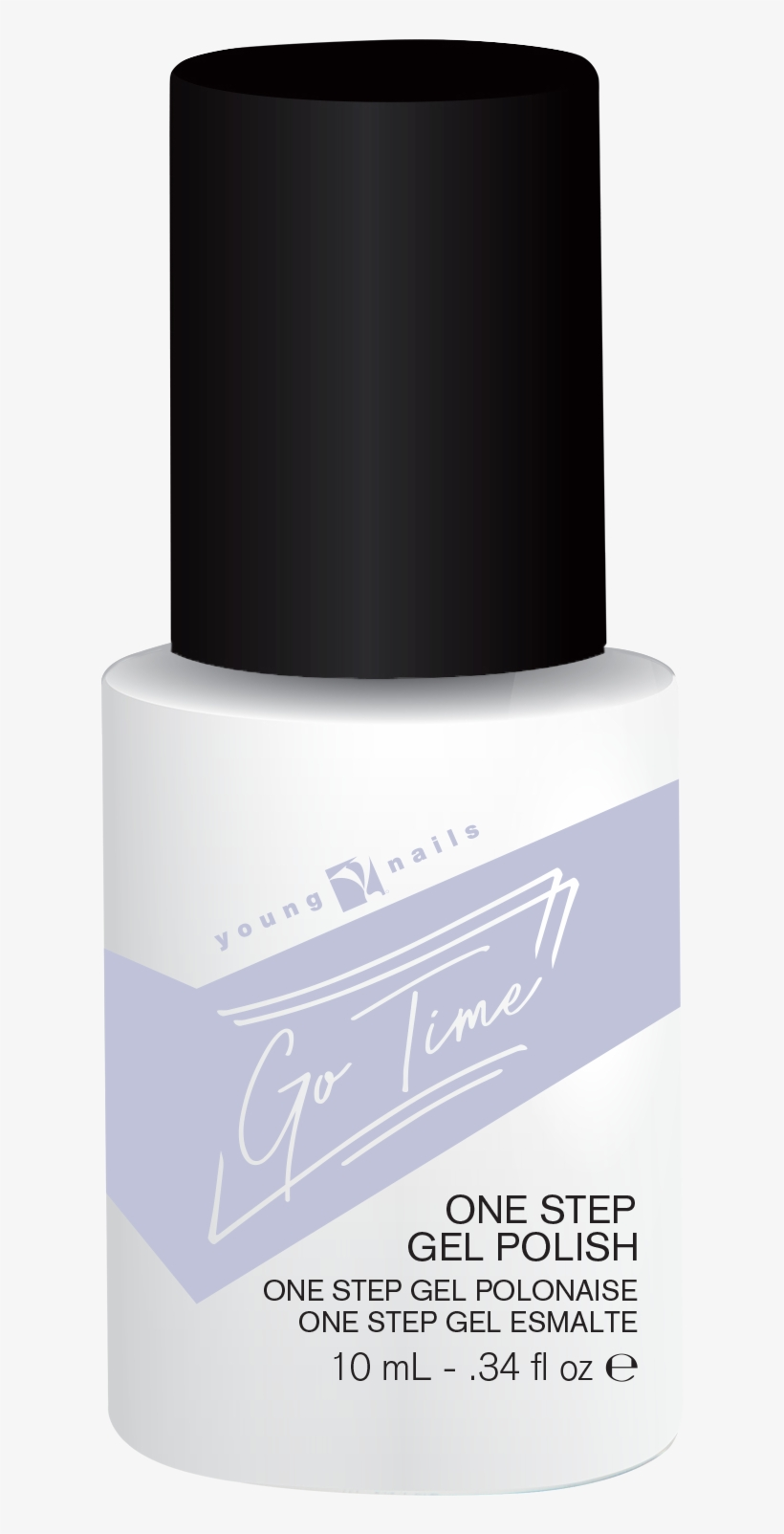 Quick View - Young Nails Go Time Gel Polish - Cheers, transparent png #2010289