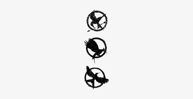 The Hunger Games Hunger Games Symbol Black And White Free