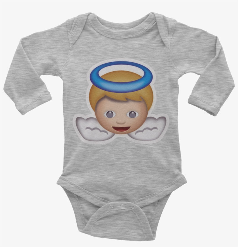 Emoji Baby Long Sleeve One Piece - Fiascotees Daddy's Little Gamer Dude |, transparent png #2011048