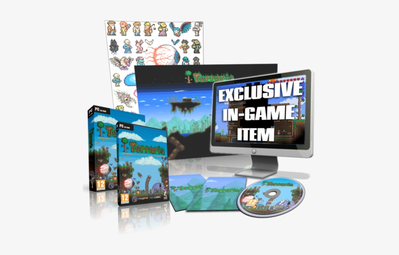 Collector's Edition - Pc: Terraria - Collector's Edition Cd, transparent png #2011914