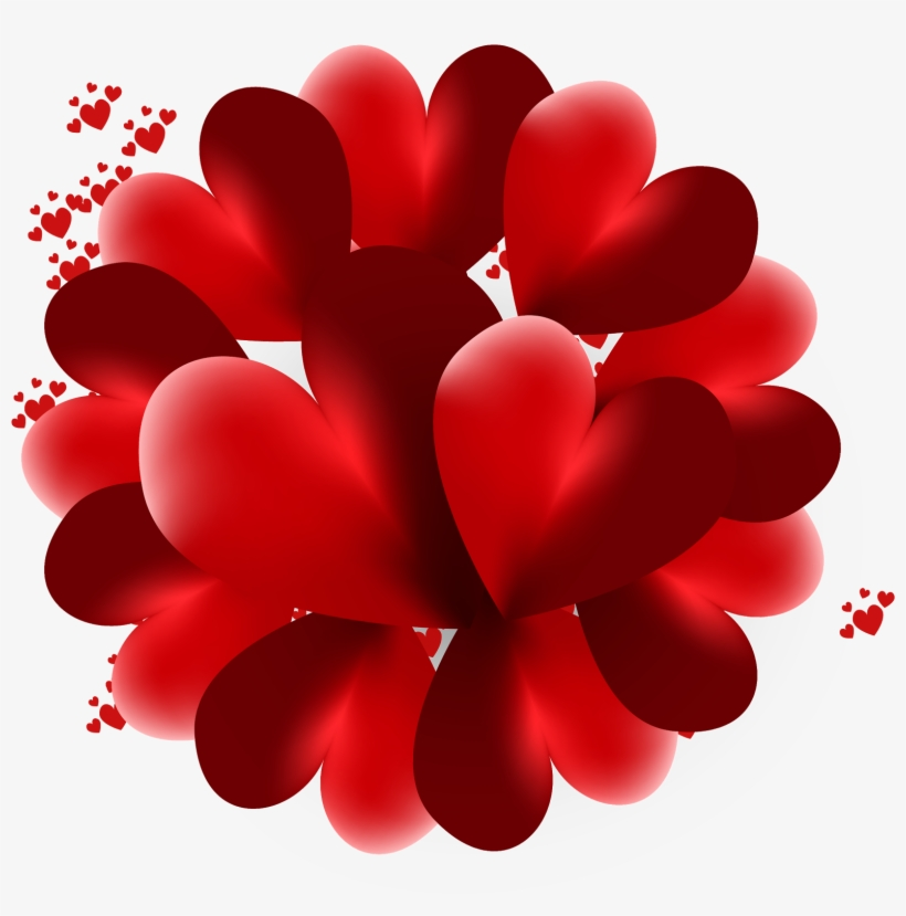 Heart, Love,valentines Day, Pink Heart, 3d Looking - Heart, transparent png #2013074