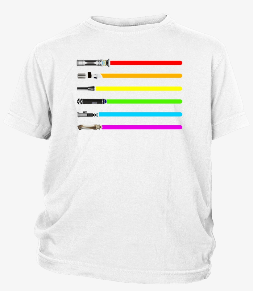 Star Wars Lightsaber Lgbt Shirts T Shirt District Youth - Team Valor - Pokemon Go Into The Fire Tshirt Hoodies, transparent png #2013184