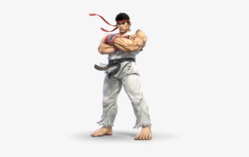 Super Smash Bros Ultimate Ryu, transparent png #2014936