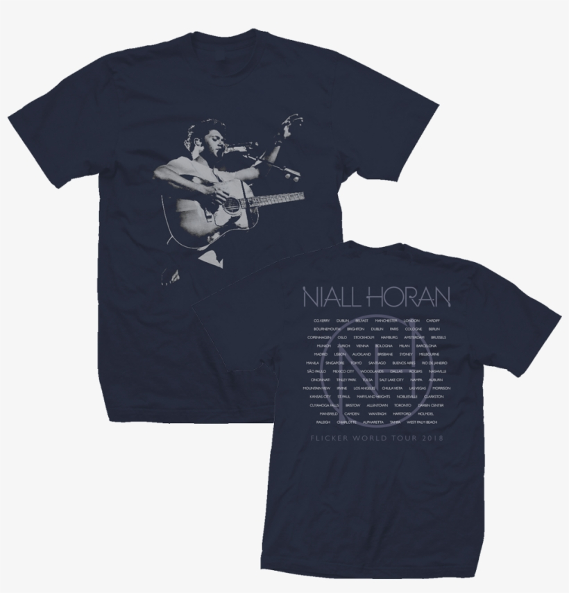 Niall Added New Merch To His Store, With Online Exclusives - Niall Horan Tour Shirt, transparent png #2015303