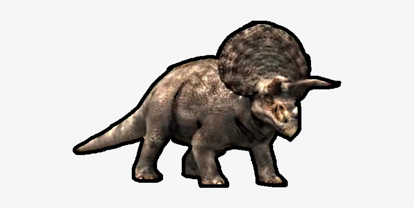 Triceratops 1 - Jurassic World The Game Triceratops Png, transparent png #2017090