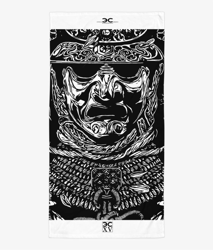 3ea36342b Aztec Warrior Beach Towel - Eagle Warrior - Free Transparent PNG ...
