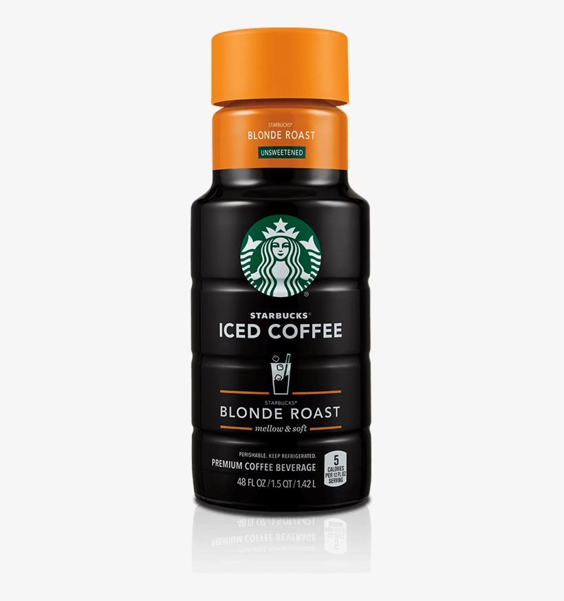 Starbucks Blonde Roast - Starbucks Unsweetened Dark Roast Iced Coffee, transparent png #2018672