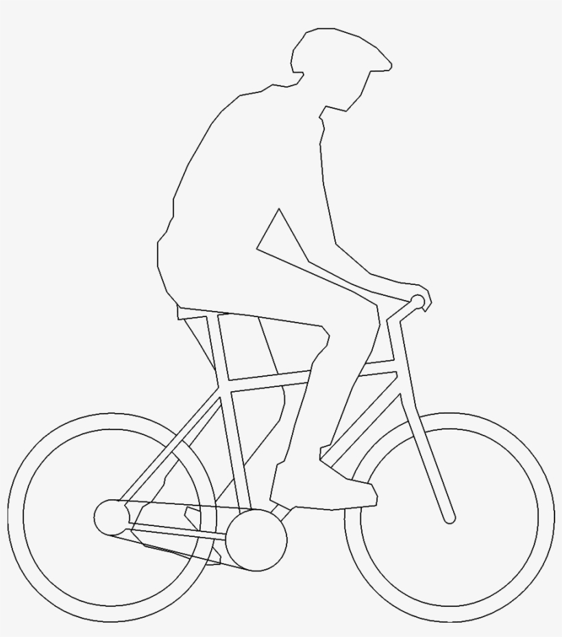Bicyclist 03 3d View - Cycling - Free Transparent PNG