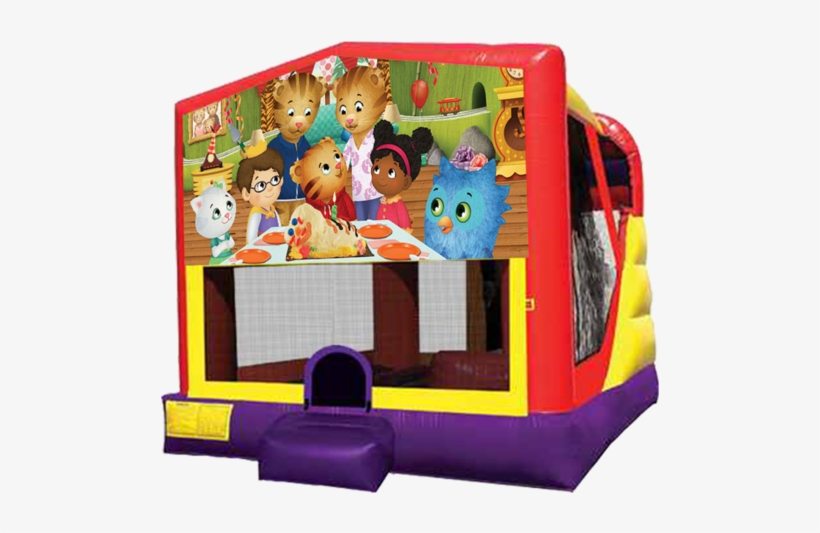 Xl Daniel Tiger's Neighborhood Combo - Pj Mask Bounce House, transparent png #2021018