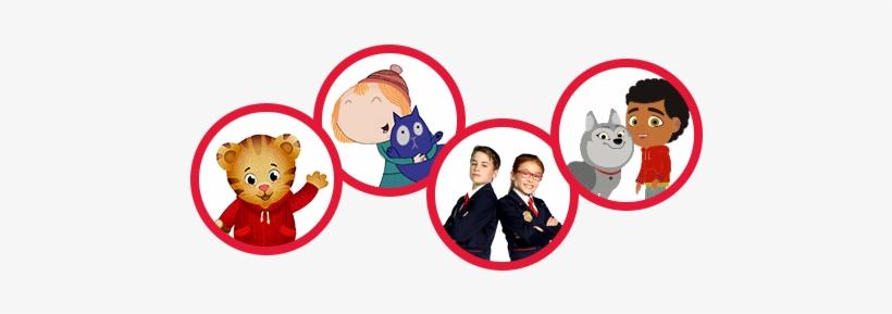 Mr Rogers, Daniel Tiger, Peg Cat - Fred Rogers Company Logo
