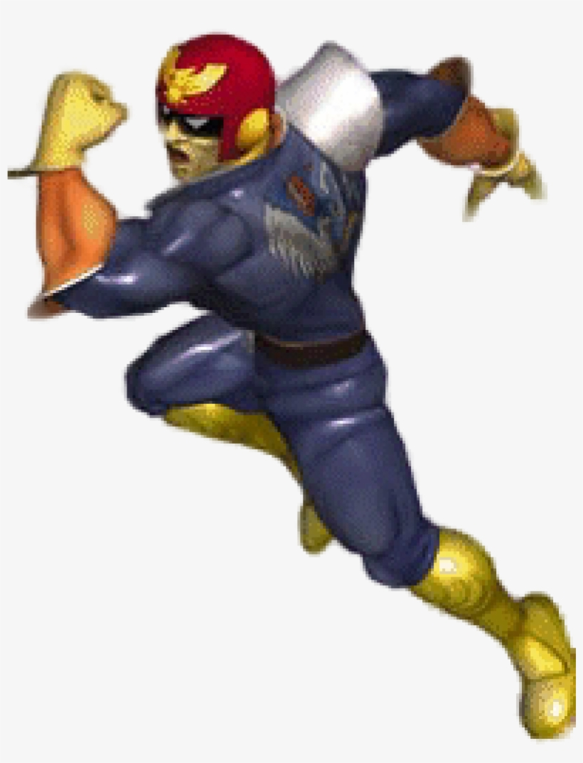 There Weren't A Lot Of Changes To Captain Falcon From - Captain Falcon Melee, transparent png #2021336