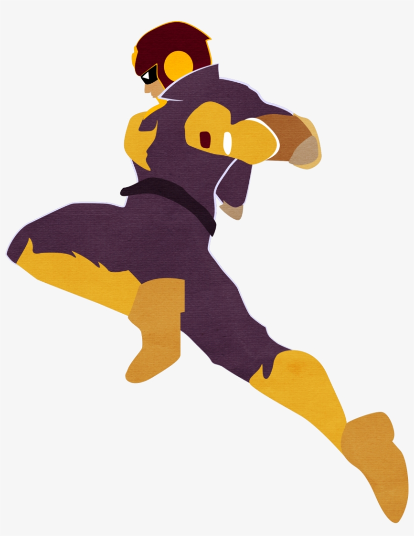 Captain Falcon Knee Knee Of Justice Hyes Smash Bros - Captain Falcon Knee Png, transparent png #2021383