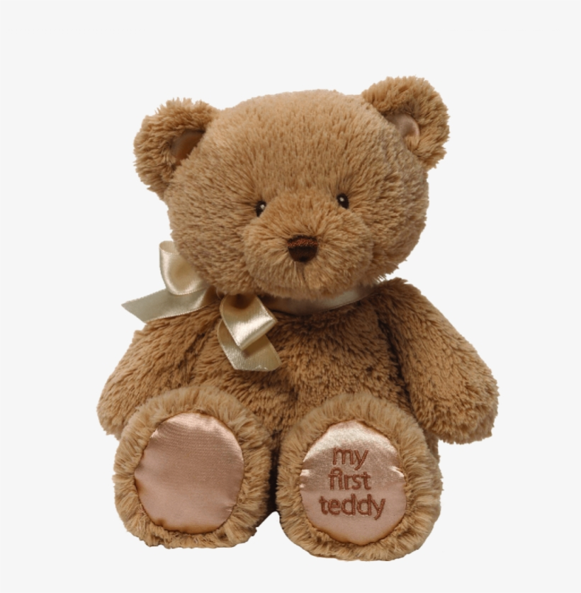 Teddy Bear Png - Gund My First Teddy Bear Baby Stuffed Animal, 10 Inches, transparent png #2023117
