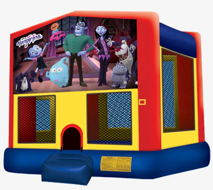 Vampirina Bounce House Rentals In Austin Texas From - Unicorn Bounce House, transparent png #2023168
