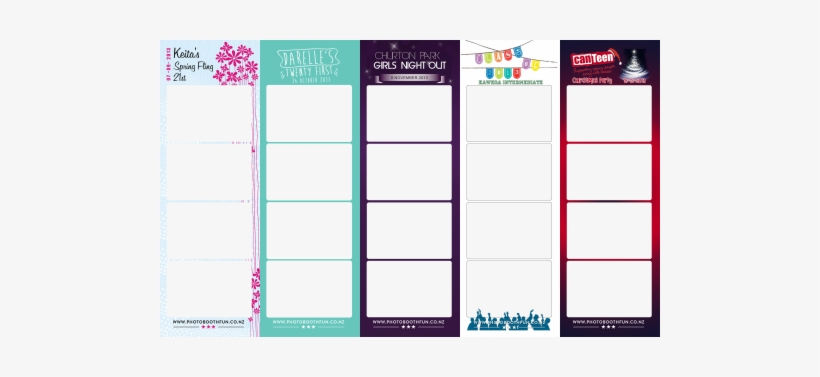 Photo Booth Strip Png Booth Picture Strip Template Free