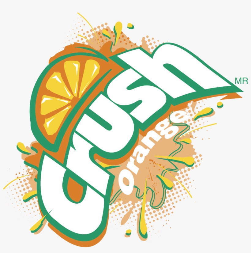 Crush Logo Png Transparent - Crush Orange Soda - 12 Pack, 12 Fl Oz Cans, transparent png #2029233