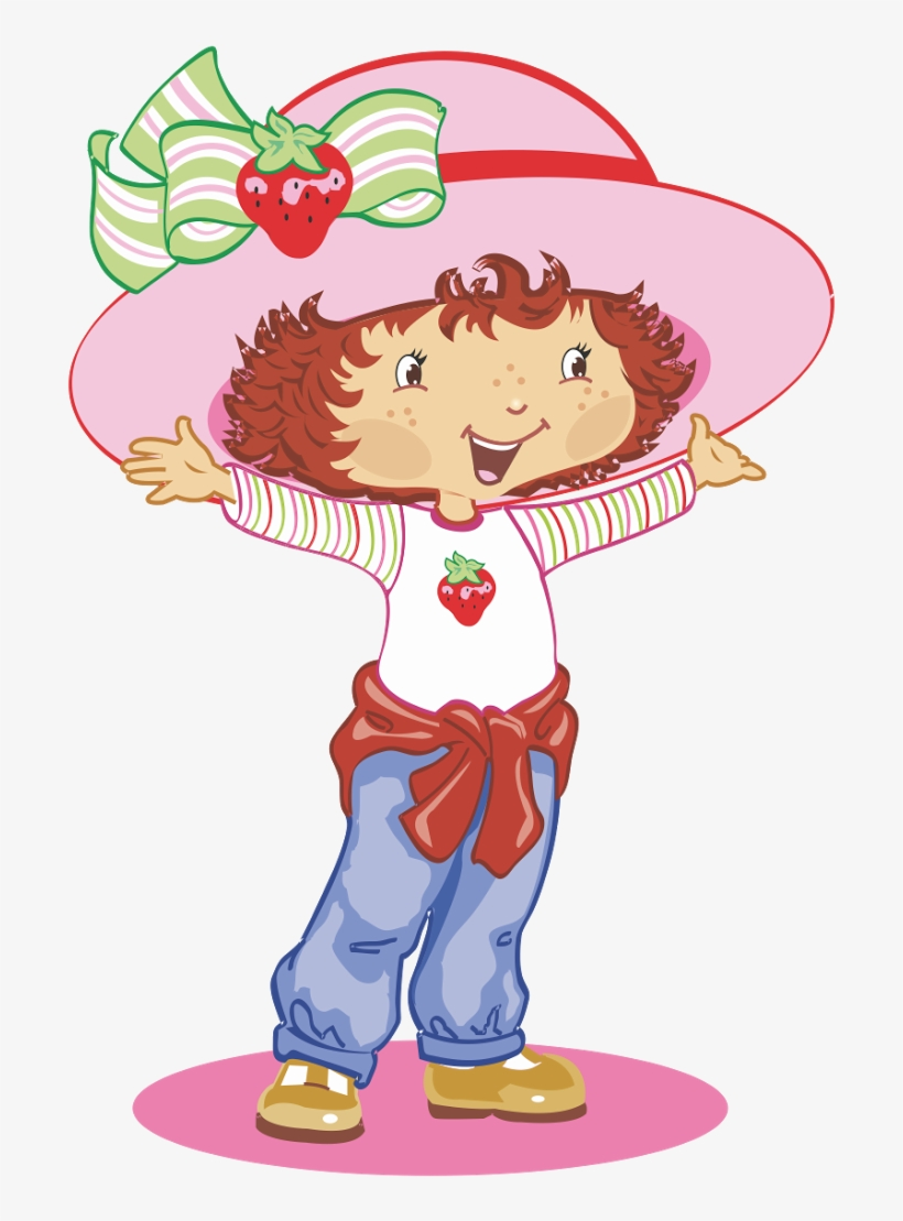 Strawberry Shortcake Rosita Fresita Logo Vector - Strawberry Shortcake Vector, transparent png #2030846
