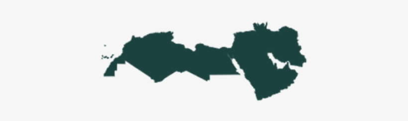Middle East And North Africa Region Map - Middle East And North Africa Map Png, transparent png #2034667