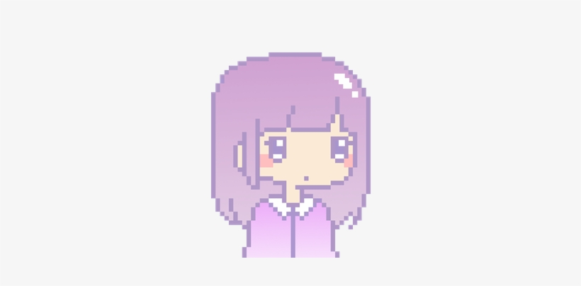 Png Kawaii Pixel Kawaii Girl Pixel Art Free Transparent