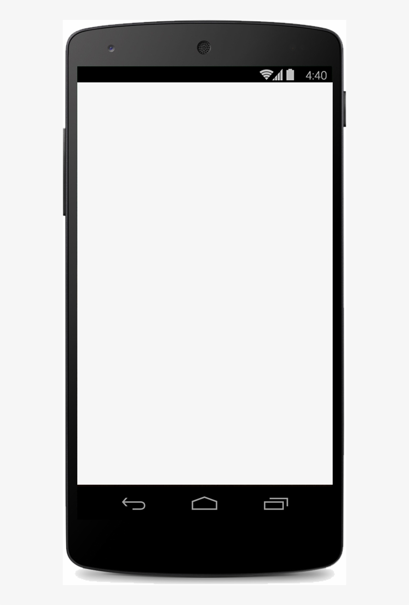 How Does It Work - Blank Mobile Phone Screen, transparent png #2038834