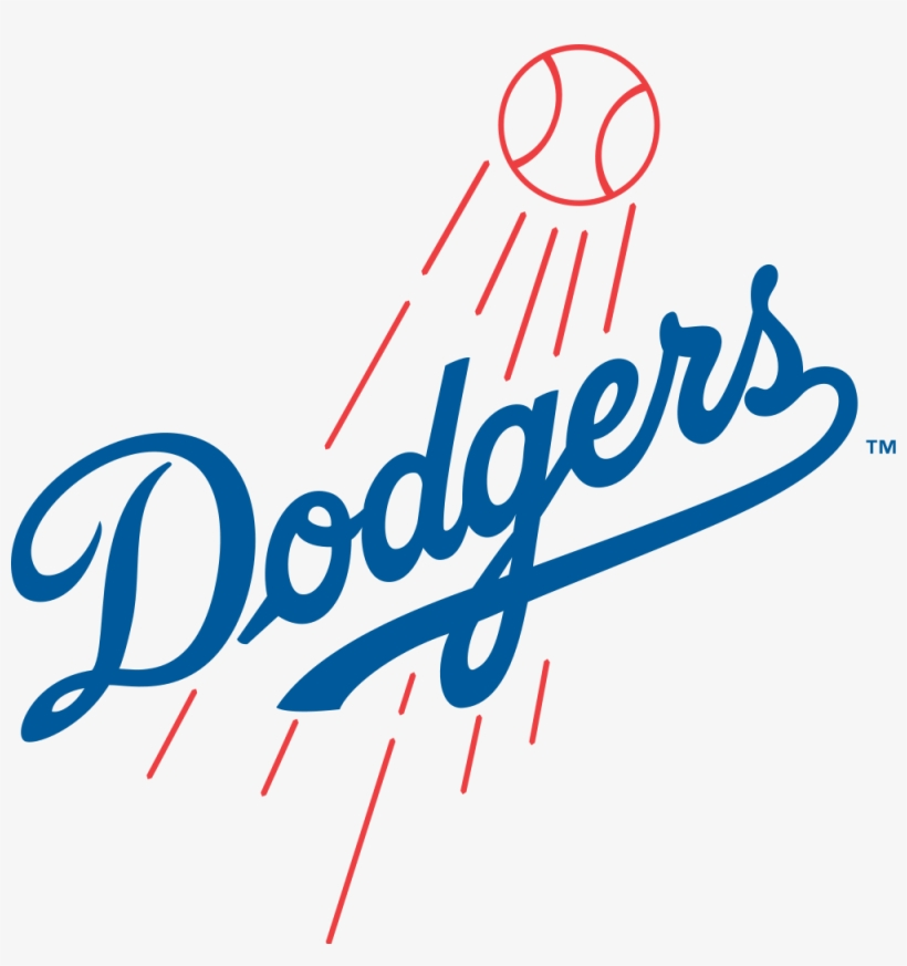 There's Magic In Los Angeles - Los Angeles Dodgers Logo Png, transparent png #2042128